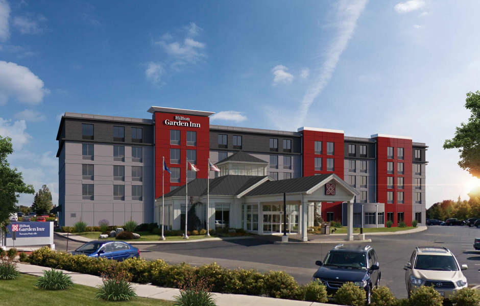 Hilton Garden Inn Oakville Renovation Expansion
